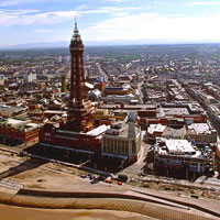 Blackpool city centre