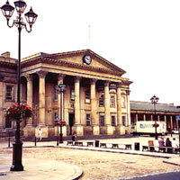 Huddersfield city centre