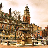 Leicester city centre