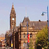 Middlesbrough city centre