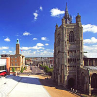 Norwich city centre