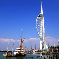 Portsmouth city centre