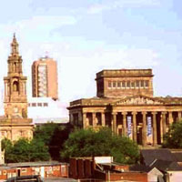 Preston city centre